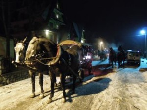 Święta w górach Biały Dunajec