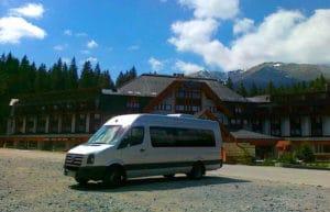 święta w górach transport