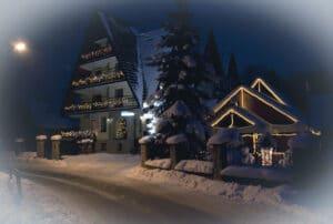 Święta w górach w Dunajcu ośrodek Bernadeta
